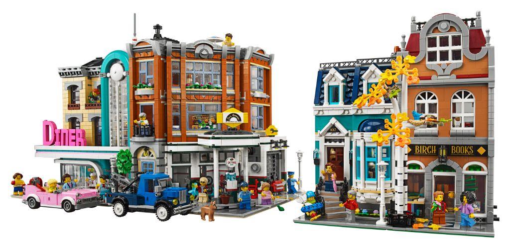 LEGO Creator Expert 10270 Bookshop 17