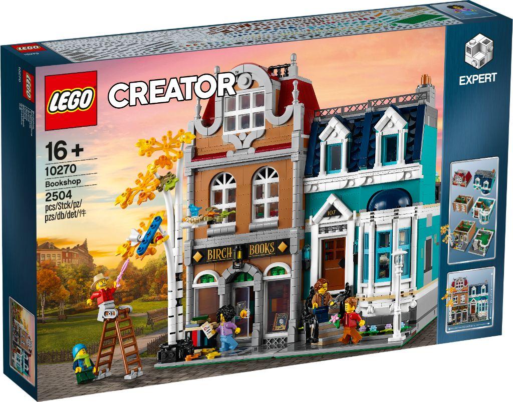 LEGO Creator Expert 10270 Bookshop 28