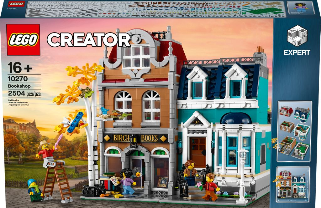 LEGO Creator Expert 10270 Bookshop 35