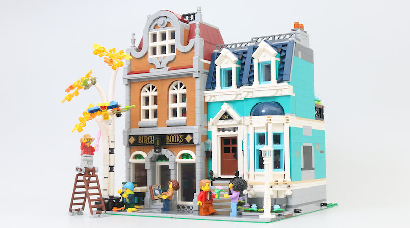 LEGO Creator Expert 10270 Bookshop Review Title 800x445