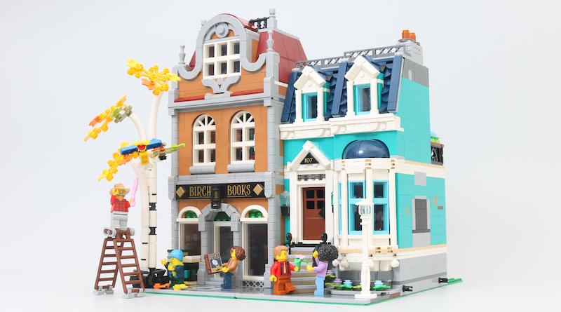 LEGO Creator Expert 10270 Bookshop review title