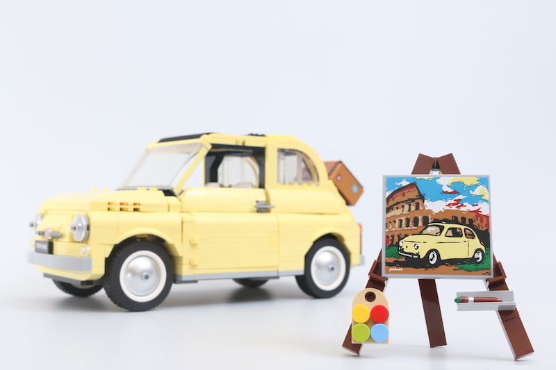 LEGO Creator Expert 10271 Fiat 500 Review 1 1