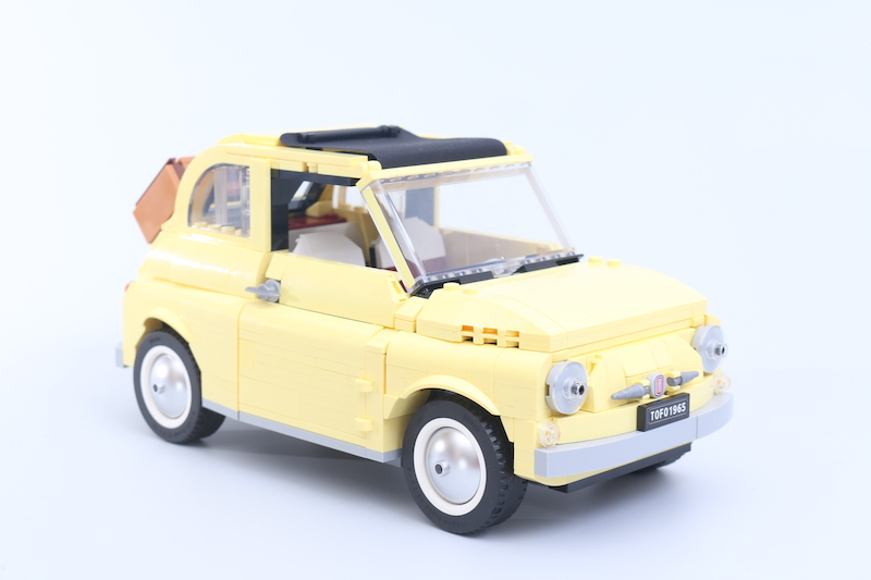 LEGO Creator Expert 10271 Fiat 500 Review 2