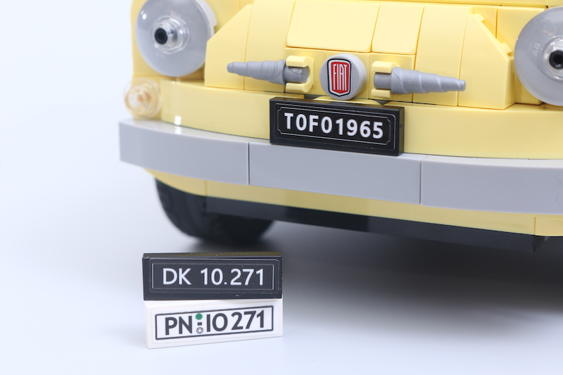 LEGO Creator Expert 10271 Fiat 500 Review 21 1