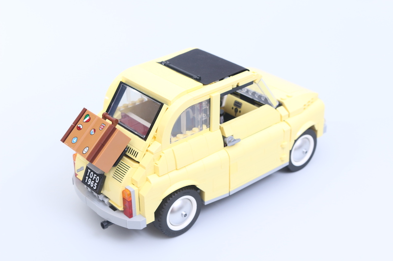 LEGO Creator Expert 10271 Fiat 500 Review 8