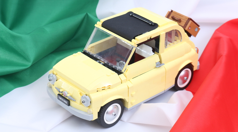 LEGO Creator Expert 10271 Fiat 500 Review Title