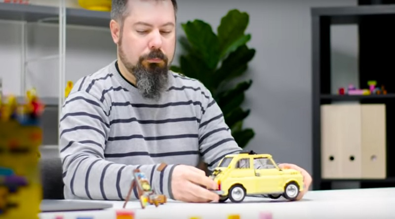 LEGO Creator Expert 10271 Fiat 500 Video Featured 800 445