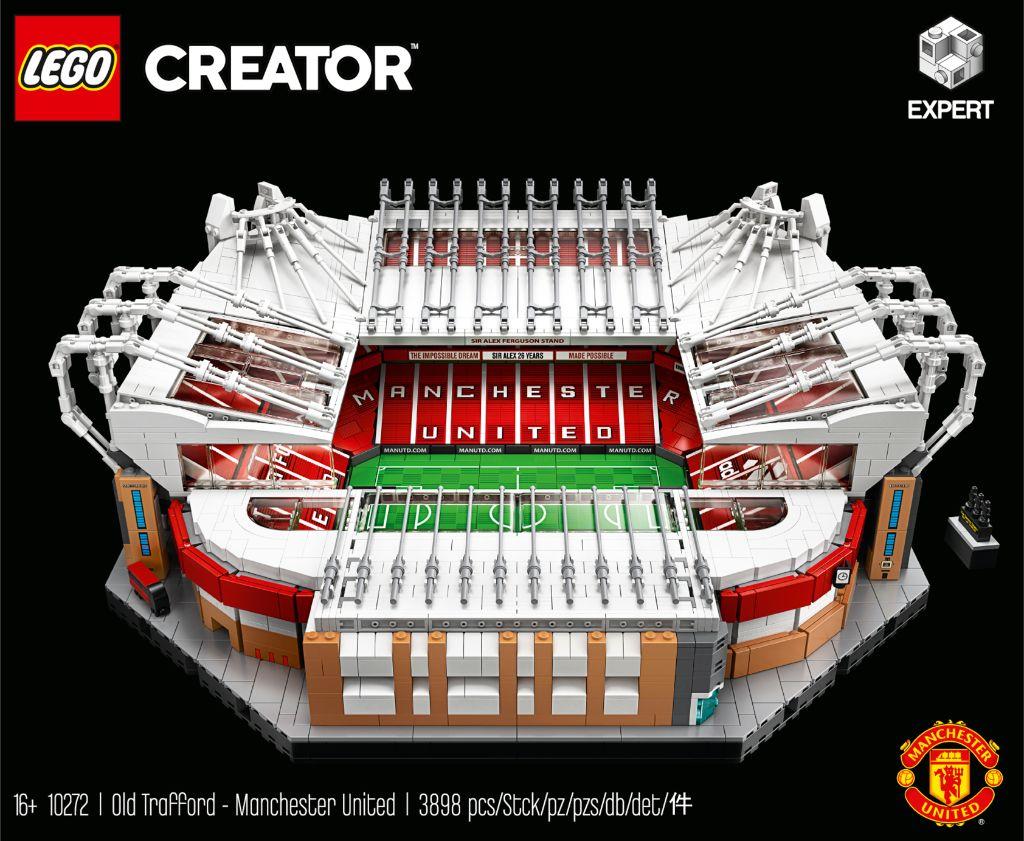LEGO Creator Expert 10272 Old Trafford Manchester United 13