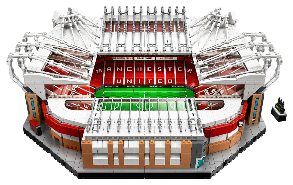 LEGO Creator Expert 10272 Old Trafford – Manchester United announced
