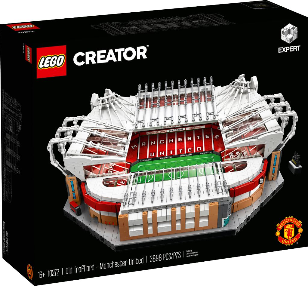 LEGO Creator Expert 10272 Old Trafford Manchester United Box