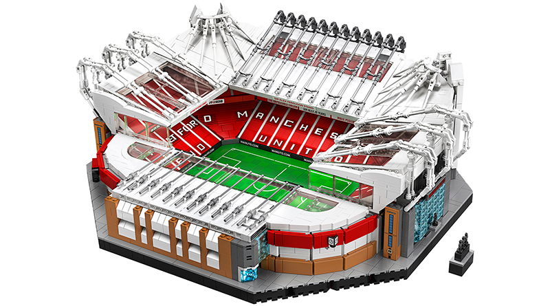 LEGO Creator Expert 10272 Old Trafford Manchester United Set Featured