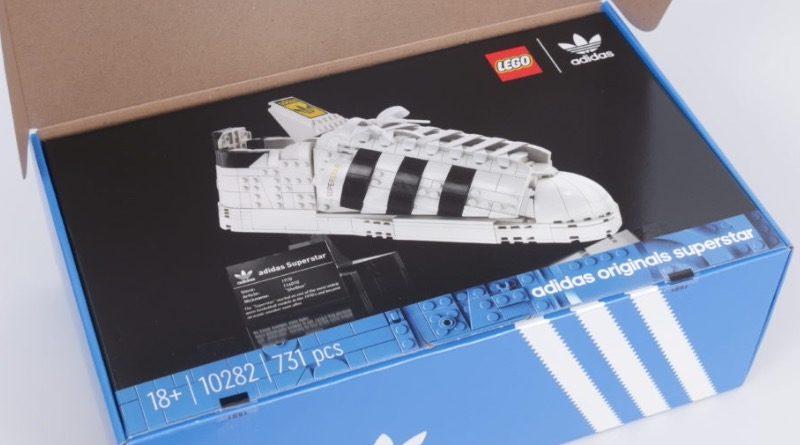 LEGO Creator Expert 18 plus 10282 Adidas Superstar box title 1