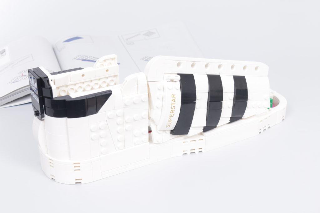LEGO Creator Expert 18 plus 10282 Adidas Superstar review 21