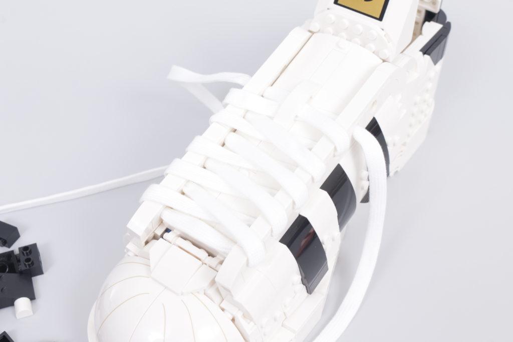 LEGO Creator Expert 18 plus 10282 Adidas Superstar review 34