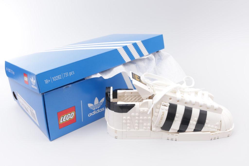 LEGO Creator Expert 18 plus 10282 Adidas Superstar review 39