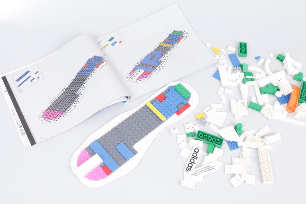 LEGO Creator Expert 18 plus 10282 Adidas Superstar review 4