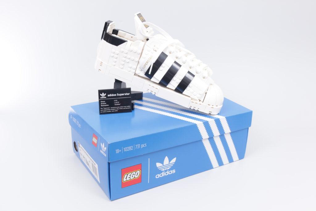 LEGO Creator Expert 18 plus 10282 Adidas Superstar review 40
