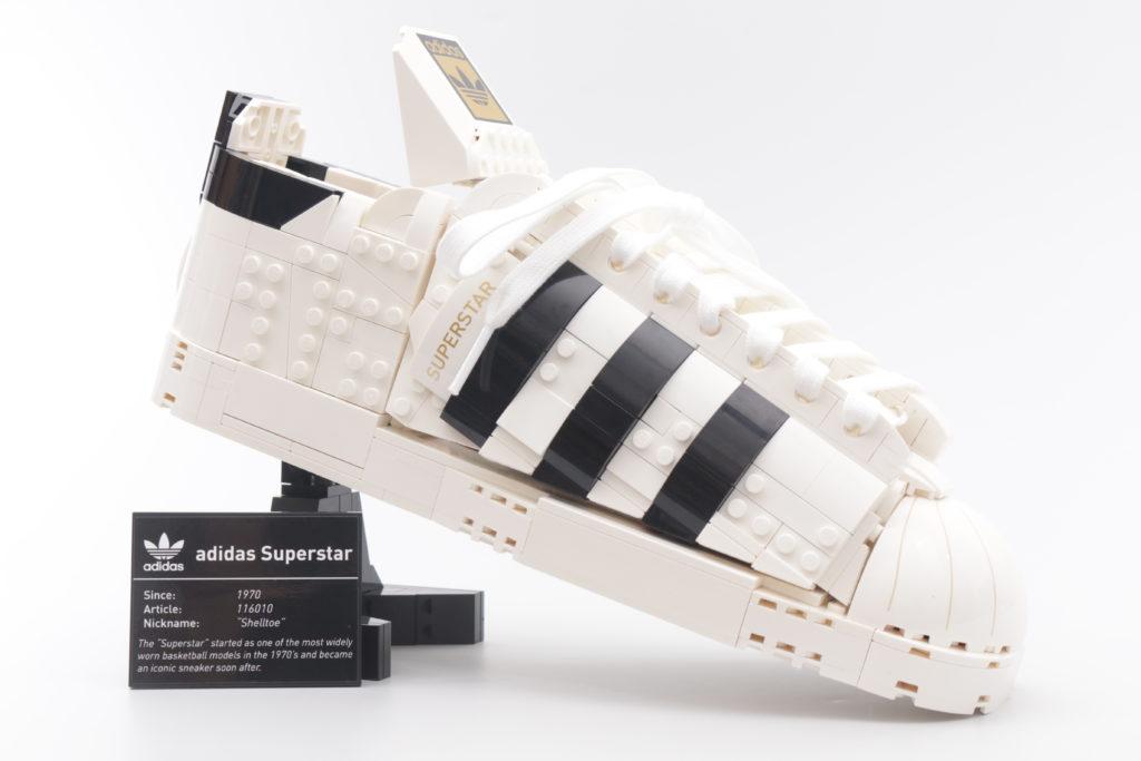 LEGO Creator Expert 18 plus 10282 Adidas Superstar review 43