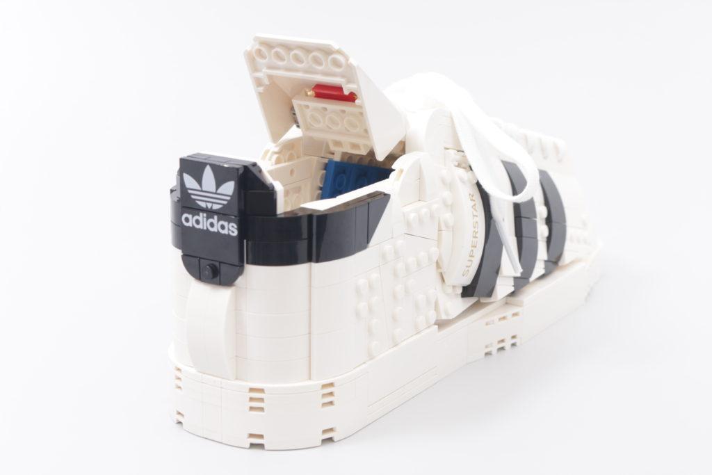 LEGO Creator Expert 18 plus 10282 Adidas Superstar review 46