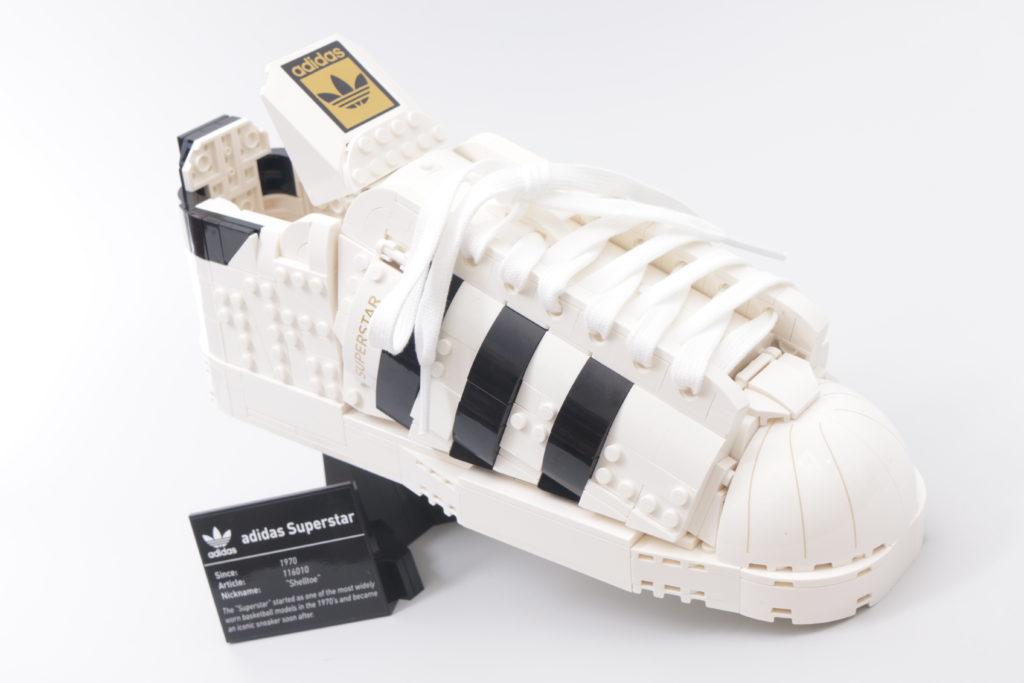 LEGO Creator Expert 18 plus 10282 Adidas Superstar review 47
