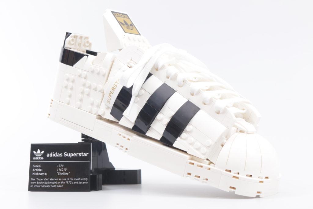 LEGO Creator Expert 18 plus 10282 Adidas Superstar review 49i