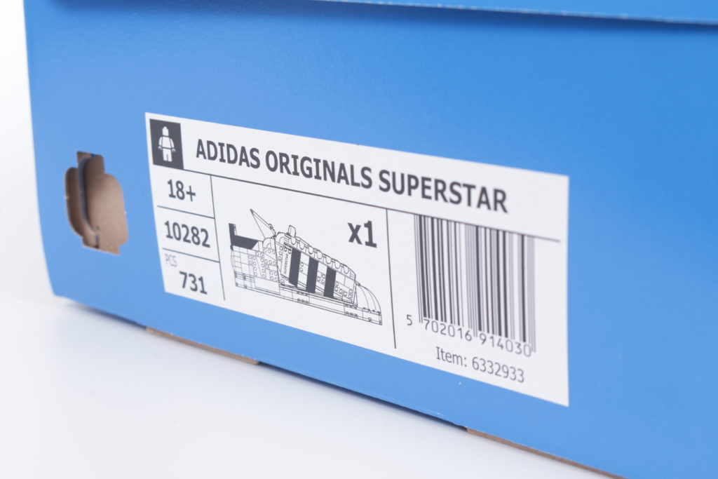 LEGO Creator Expert 18 plus 10282 Adidas Superstar review 66