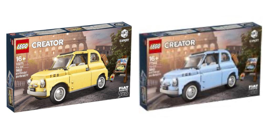 LEGO Creator Expert 77942 Fiat 500 00