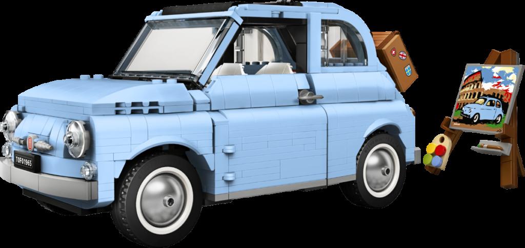 LEGO Creator Expert 77942 Fiat 500 6
