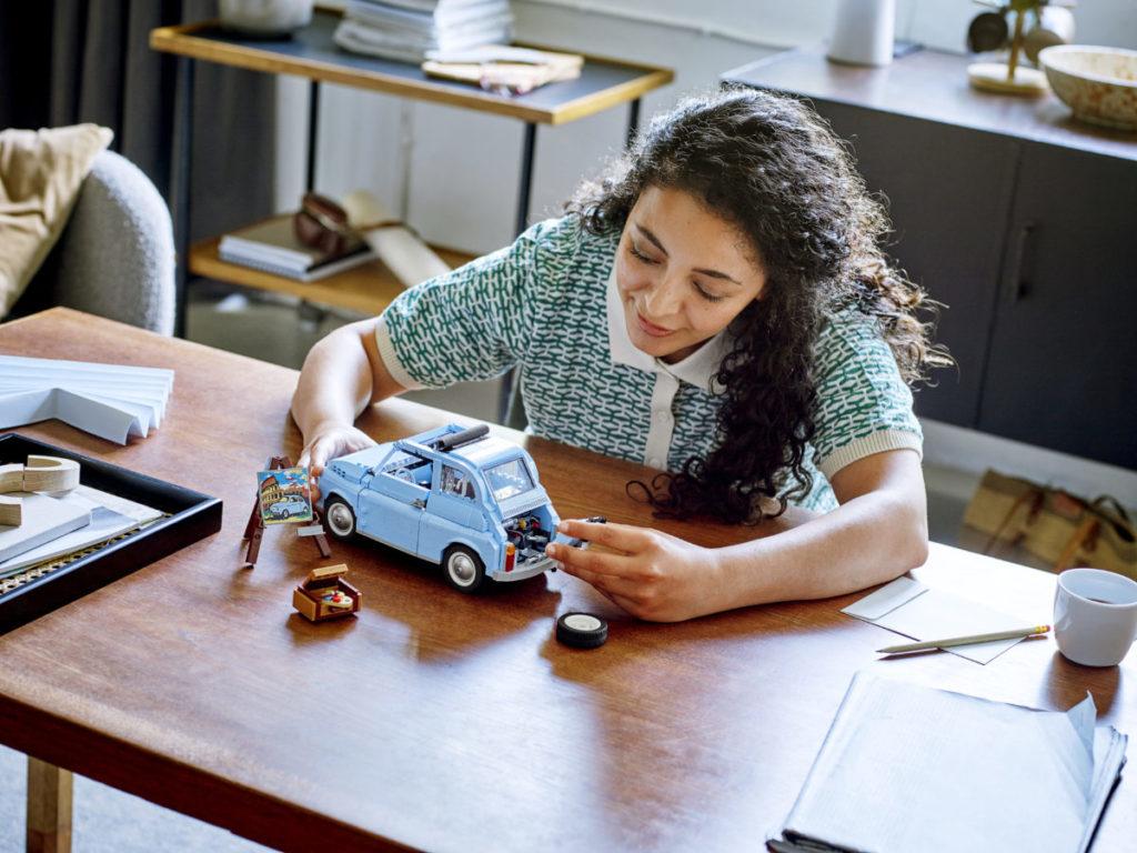 LEGO Creator Expert 77942 Fiat 500 9
