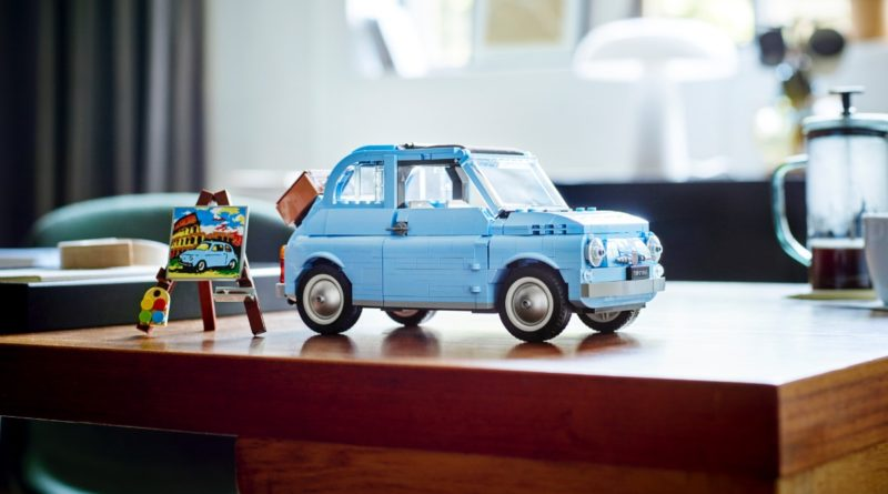 LEGO Creator Expert 77942 Fiat 500 featured