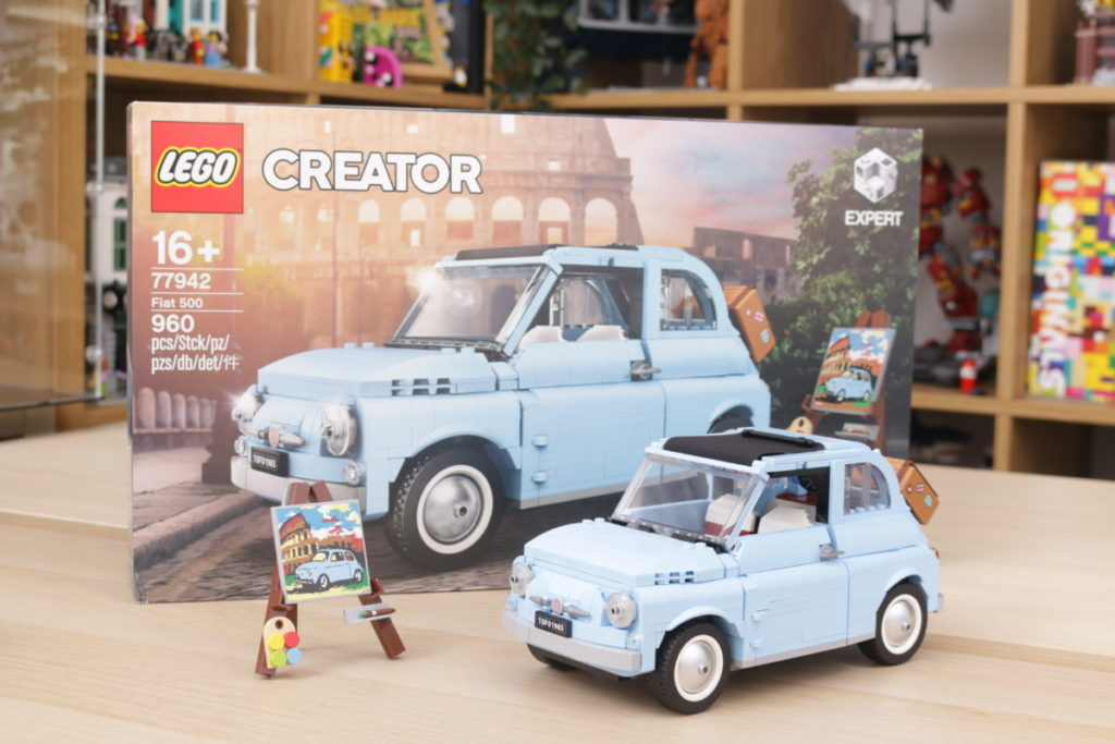 LEGO Creator Expert 77942 Fiat 500 review 1