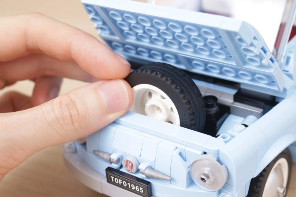 LEGO Creator Expert 77942 Fiat 500 review 10