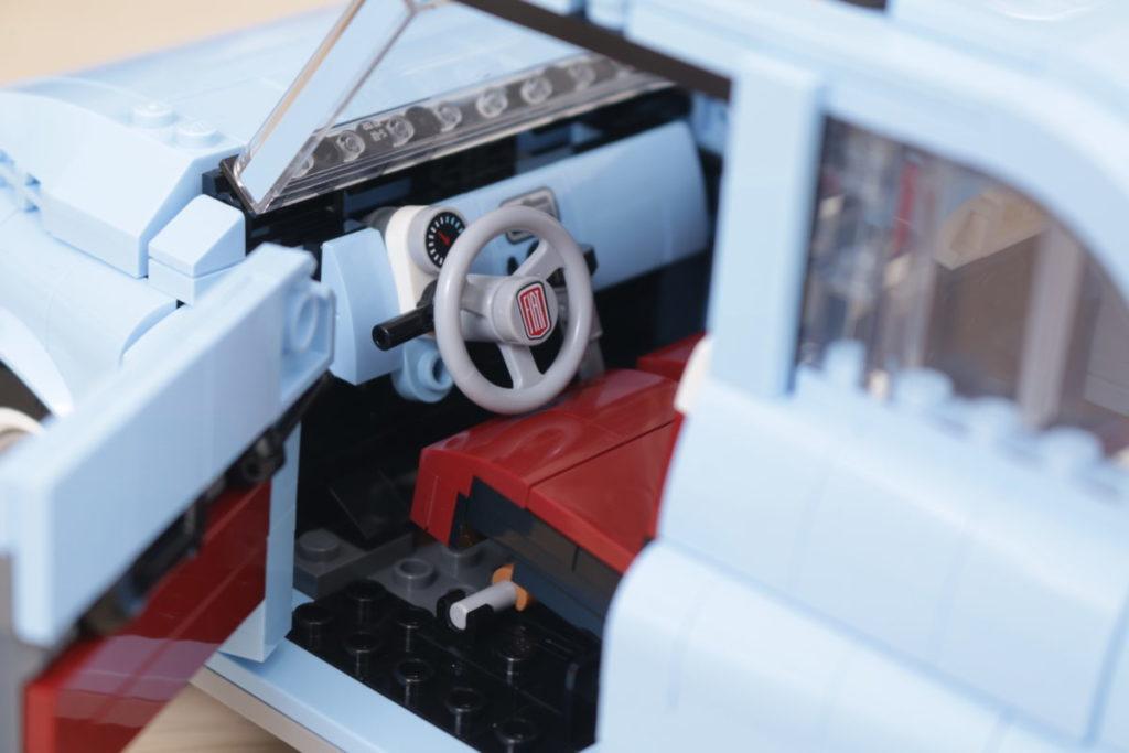 LEGO Creator Expert 77942 Fiat 500 review 11