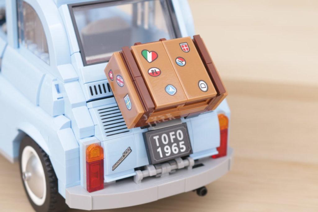 LEGO Creator Expert 77942 Fiat 500 review 13