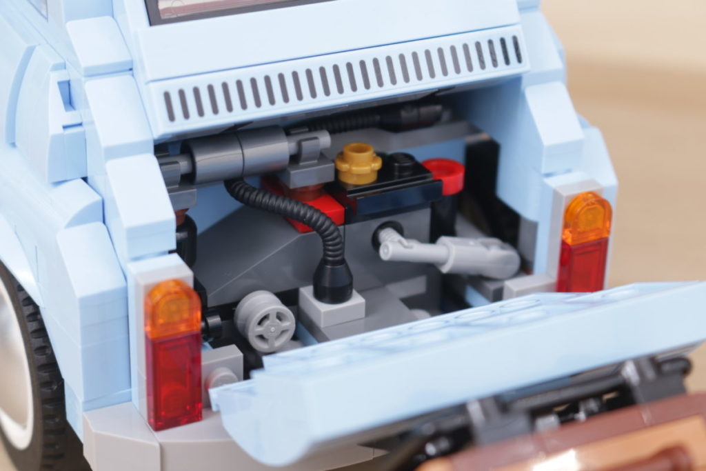 LEGO Creator Expert 77942 Fiat 500 review 14