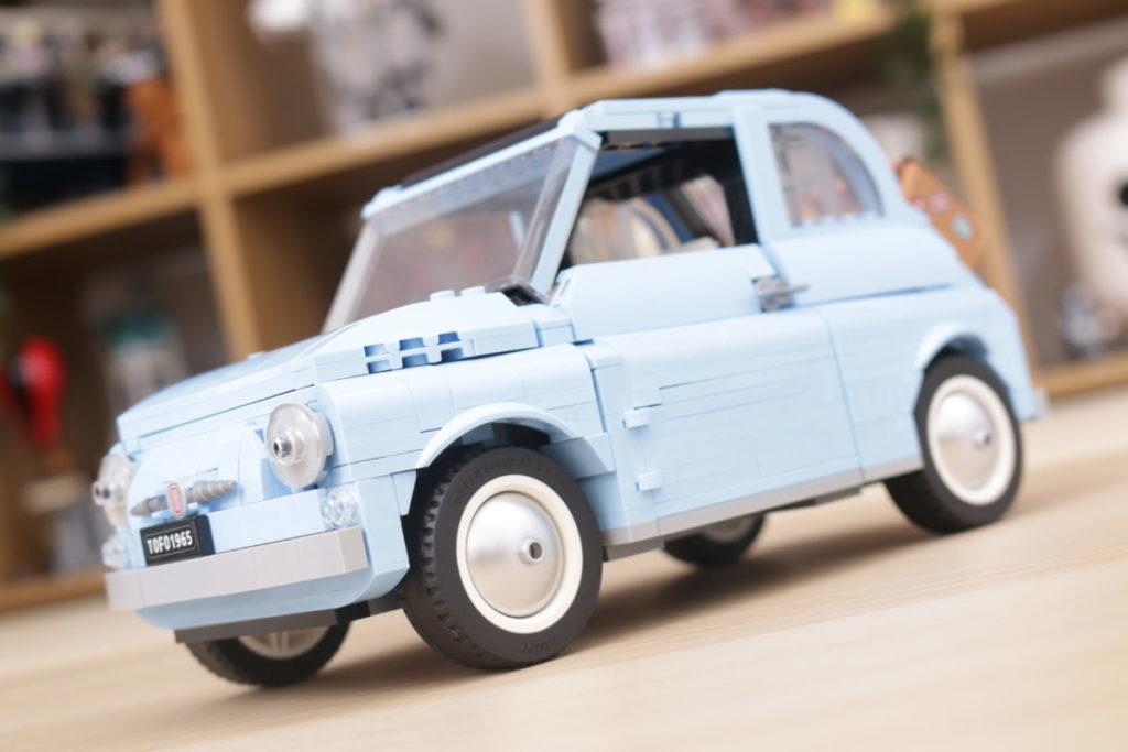 LEGO Creator Expert 77942 Fiat 500 review 17