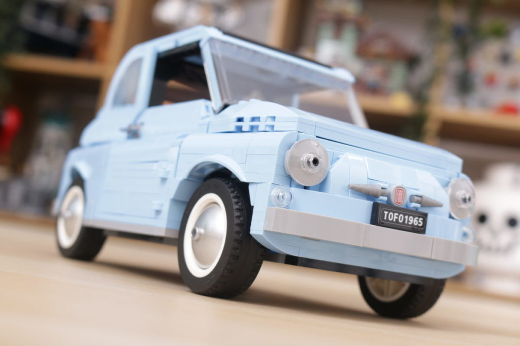 LEGO Creator Expert 77942 Fiat 500 review 18