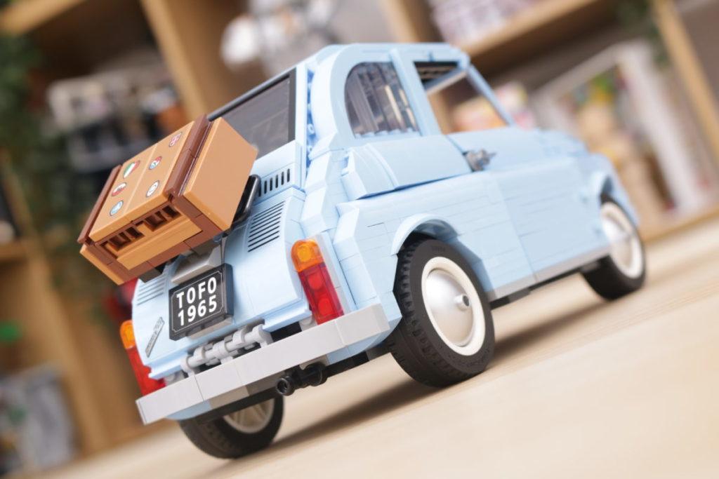 LEGO Creator Expert 77942 Fiat 500 review 19