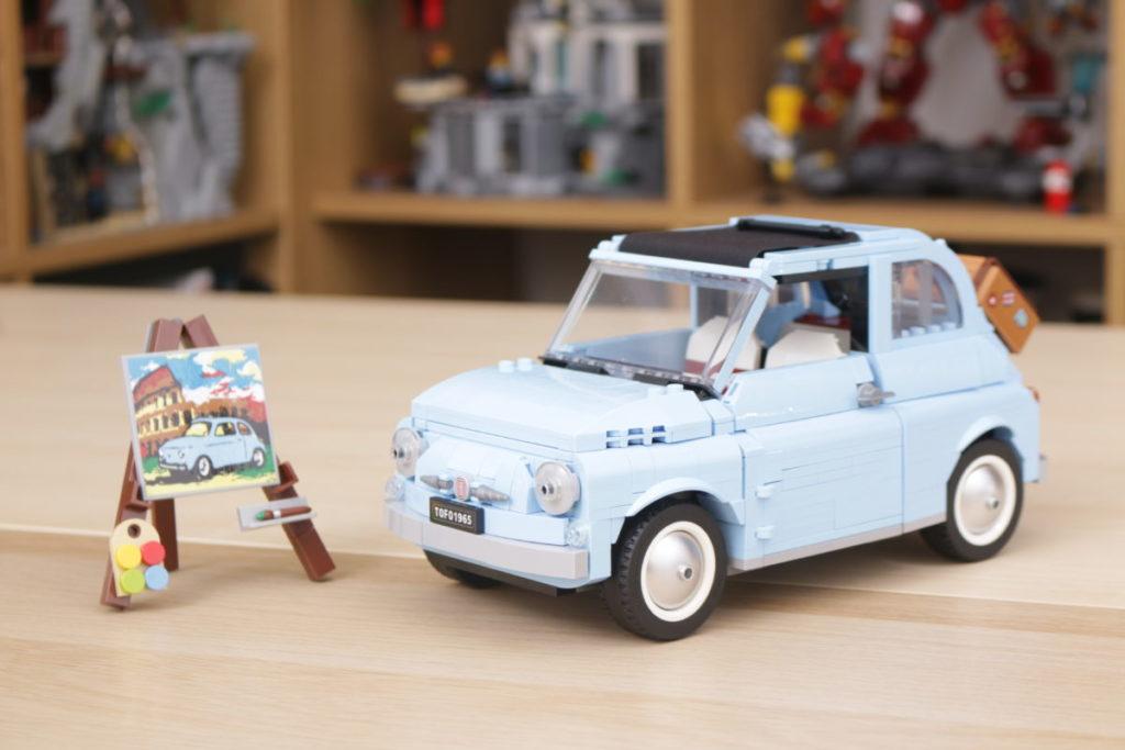 LEGO Creator Expert 77942 Fiat 500 review 2