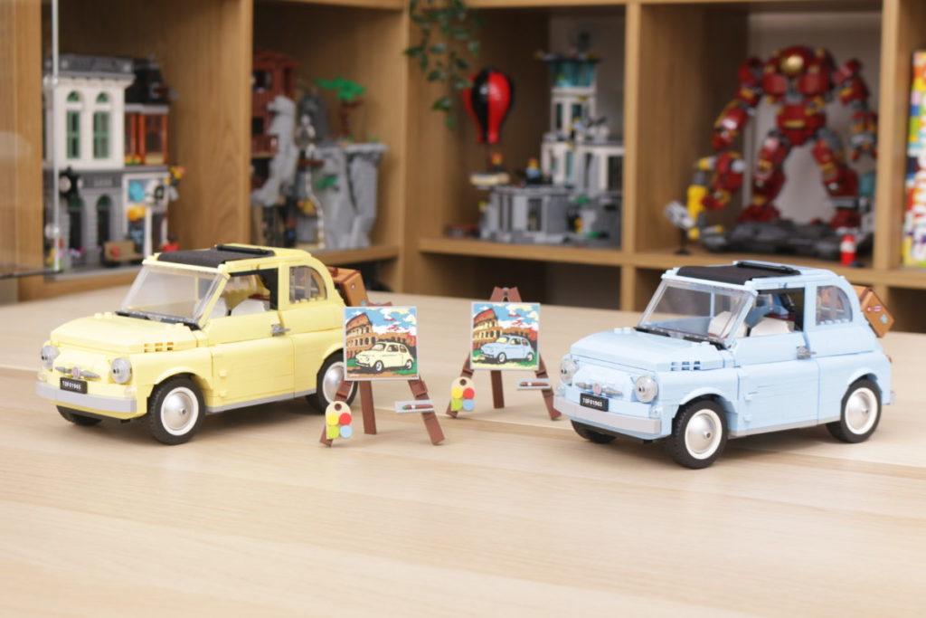 LEGO Creator Expert 77942 Fiat 500 review 20