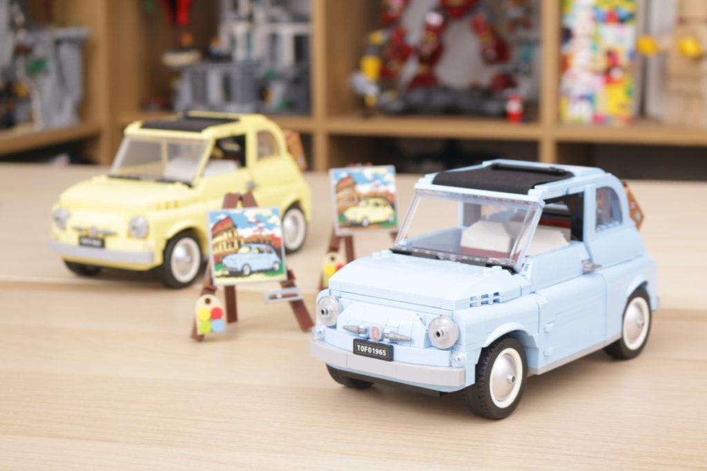 LEGO Creator Expert 77942 Fiat 500 review 22
