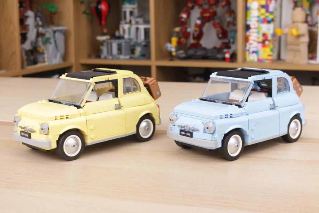 LEGO Creator Expert 77942 Fiat 500 review 23