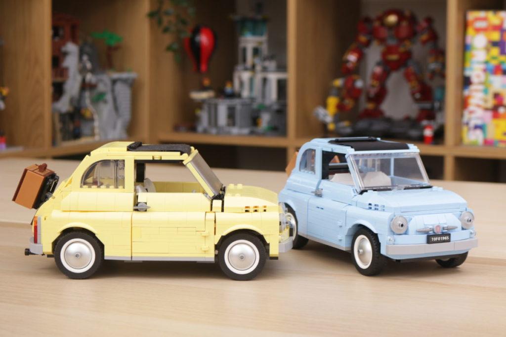 LEGO Creator Expert 77942 Fiat 500 review 24