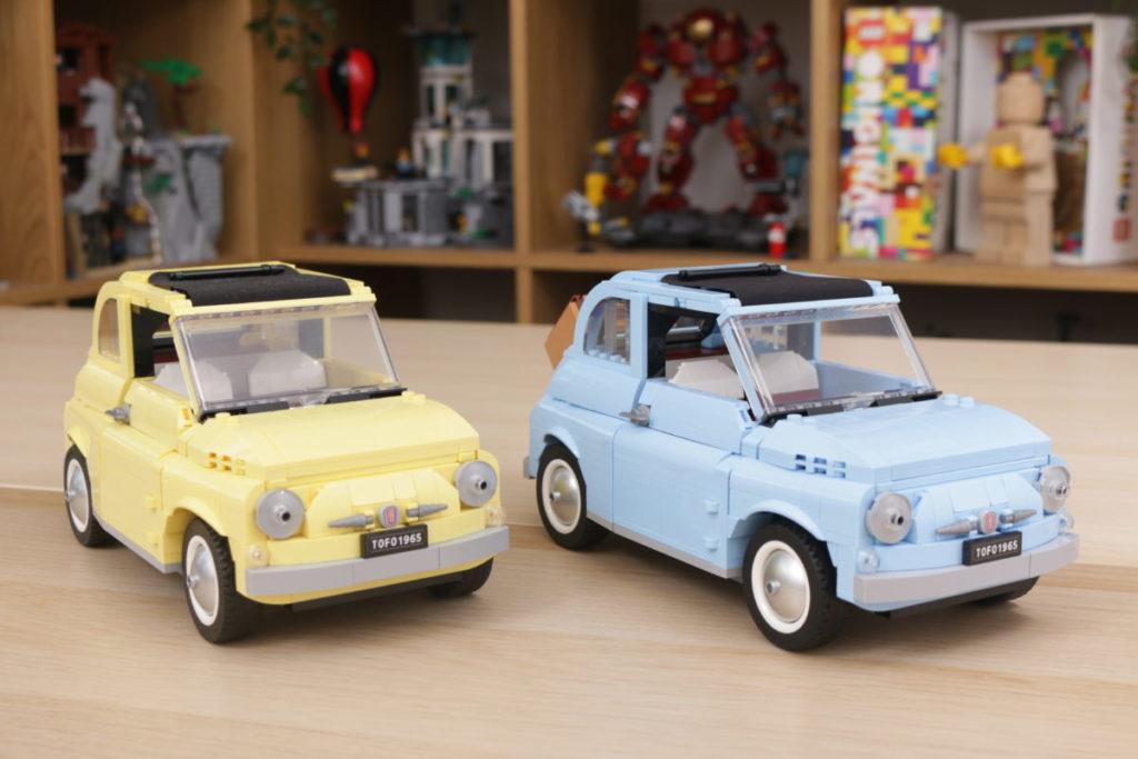 LEGO Creator Expert 77942 Fiat 500 review 25