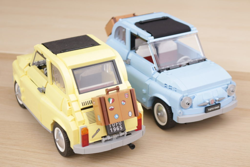 LEGO Creator Expert 77942 Fiat 500 review 26