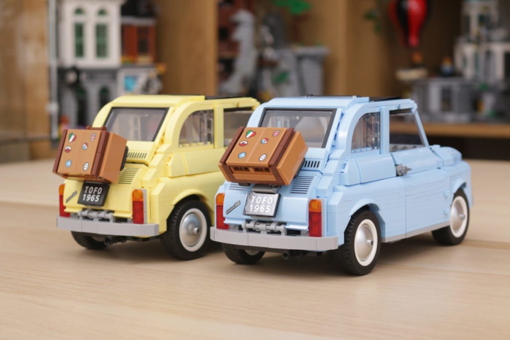 LEGO Creator Expert 77942 Fiat 500 review 27