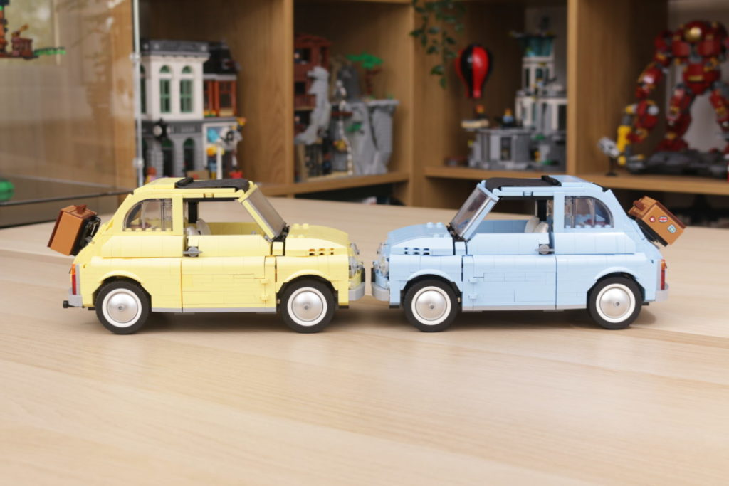 LEGO Creator Expert 77942 Fiat 500 review 28