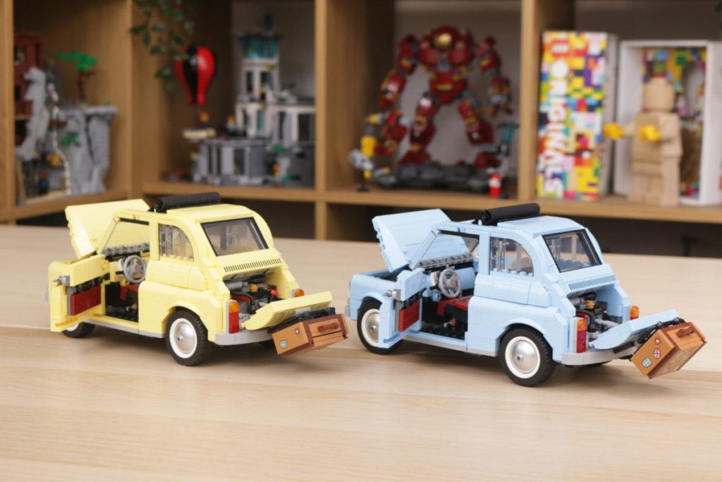 LEGO Creator Expert 77942 Fiat 500 review 29