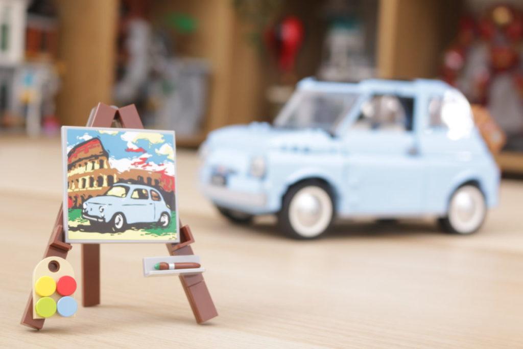 LEGO Creator Expert 77942 Fiat 500 review 3