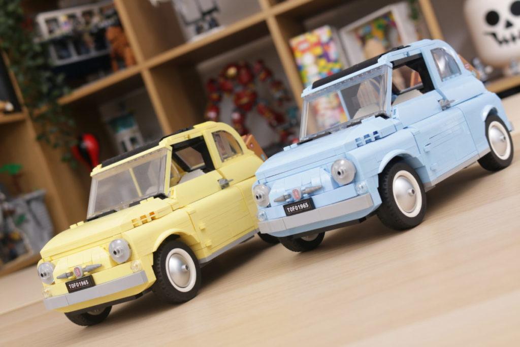 LEGO Creator Expert 77942 Fiat 500 review 30